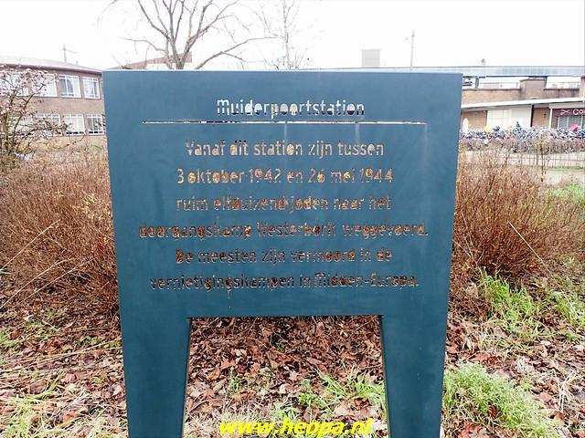 2021-01-30  Hollandsche Schouwburg via station Muiderpoort, Diemen, Station Weesp 31