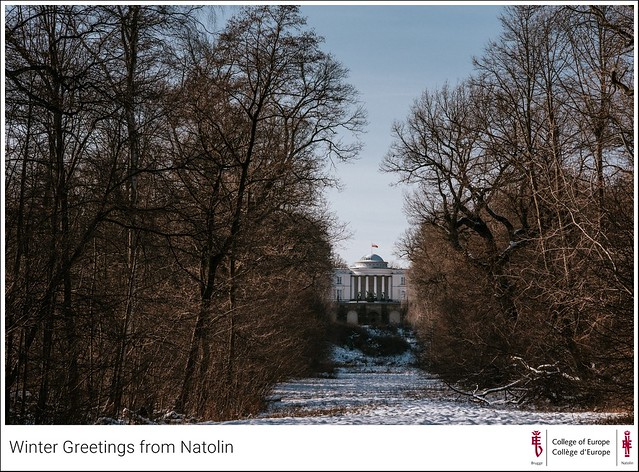 Winter Greetings from Natolin