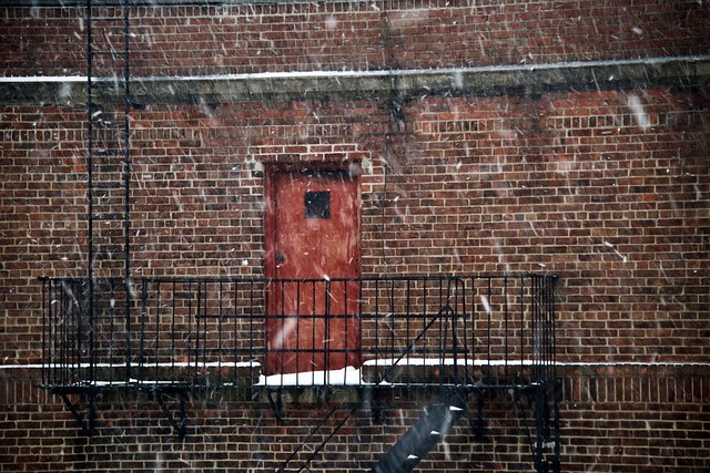 What's behind Red door Number 1