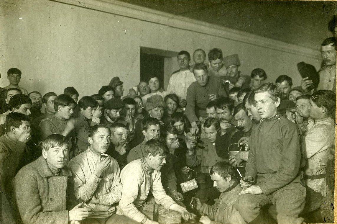 1918. Формирование полков деревенской бедноты