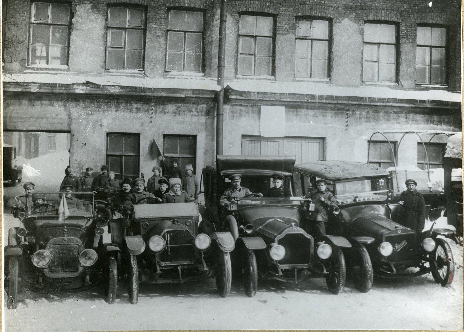 1918. Петроградский отряд автодивизиона им. Я.М. Свердлова