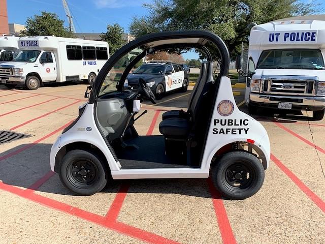 UT Police All-Electric Vehicle Fleet