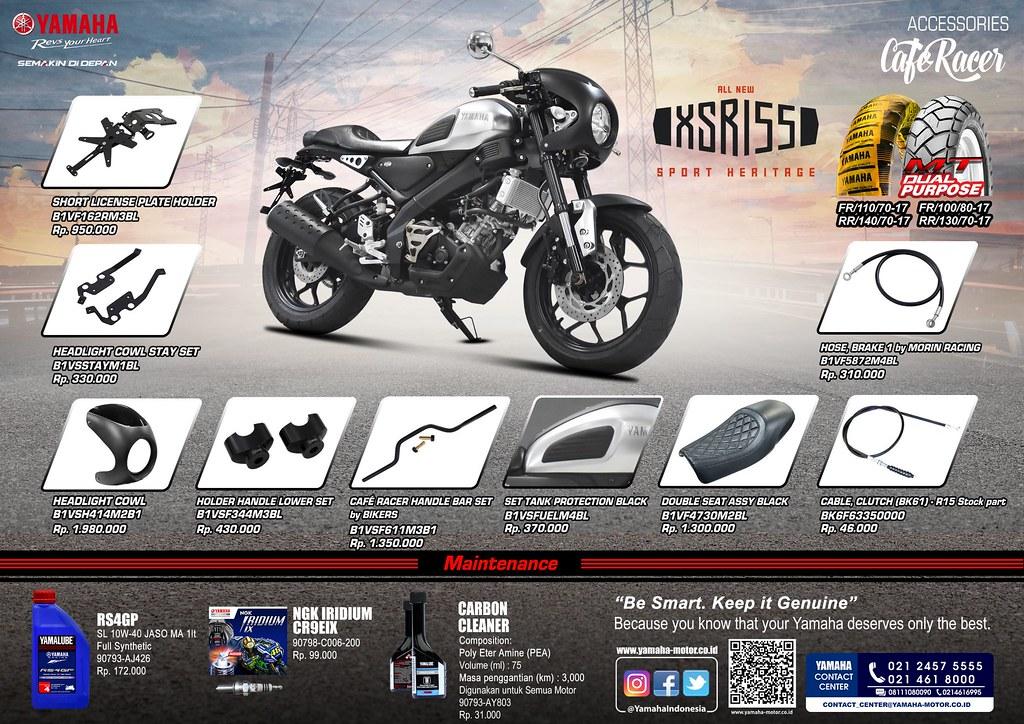 Aksesoris XSR 155 (Cafe Racer)