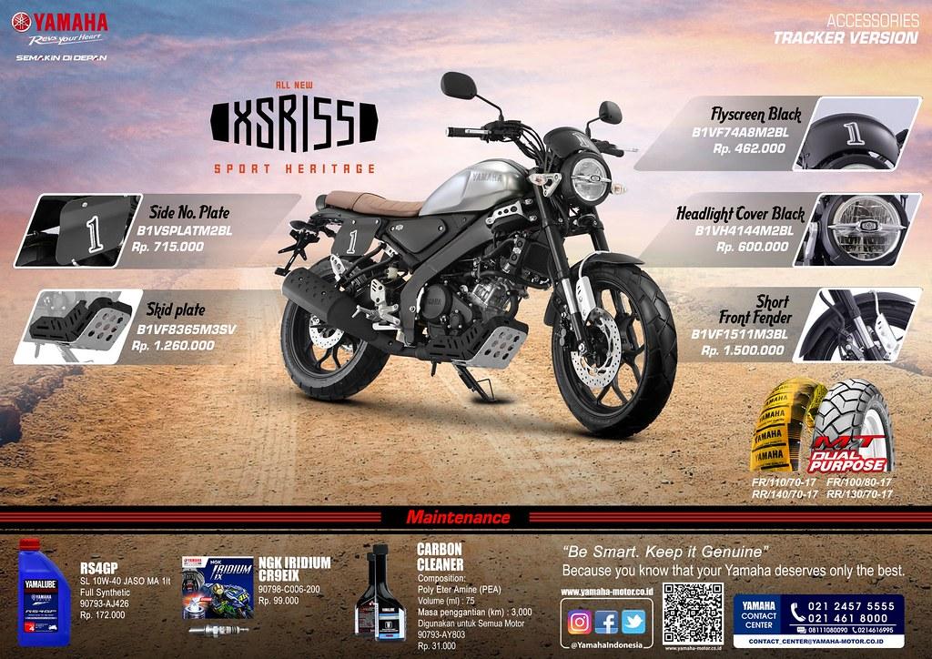 Aksesoris XSR 155 (Tracker)
