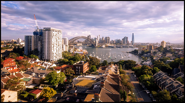 Sydney - a view from North Sydney
