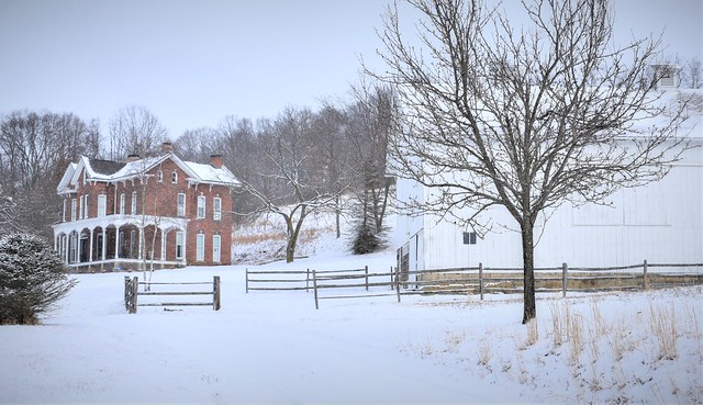 Winter on the farm @ Butler County, PA