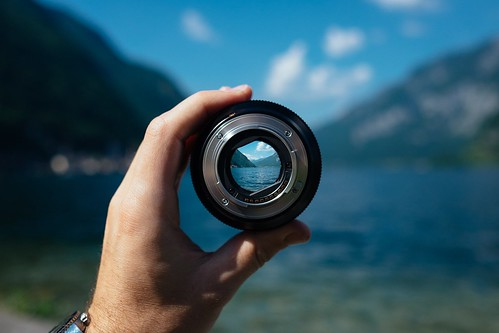 Focusing a camera on a lake with mountains. From Through the Eyes of an Educator: Changing of the Guard