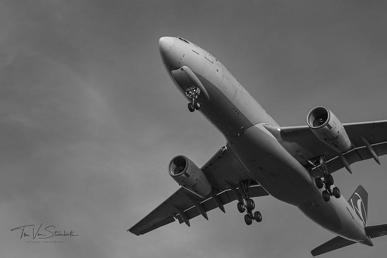 A330F - Brussels Airport RWY 25R