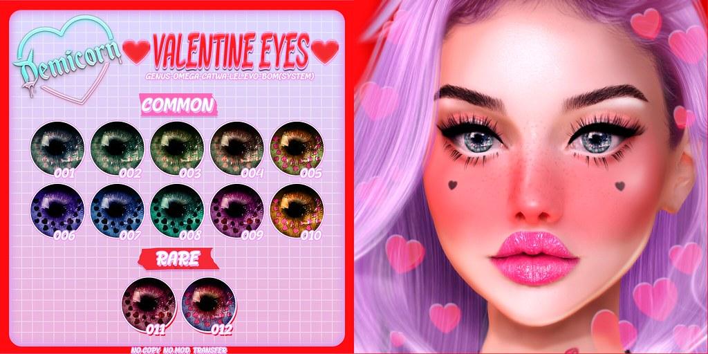 {Demicorn} Valentine Eyes Gacha