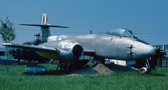 Gloster Meteor: WL181 Meteor F.8 Sunderland Air Museum, Usworth.