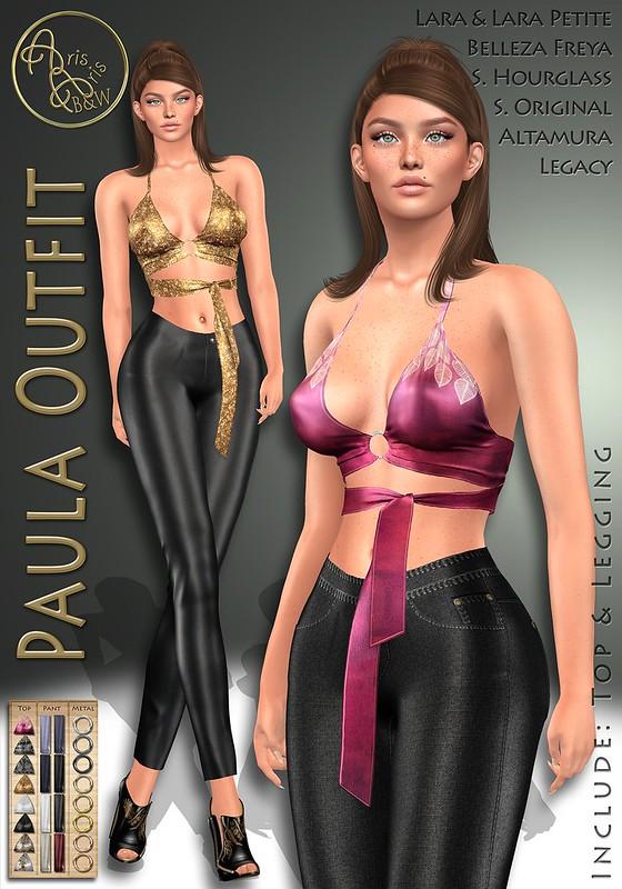 ArisArisB&W~AlCo27~Paula Outfit~VENDOR