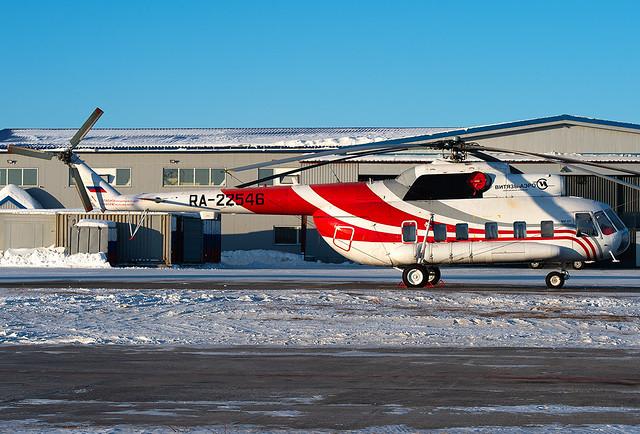 RA-22546 Vityaz-Aero Mil Mi-8P