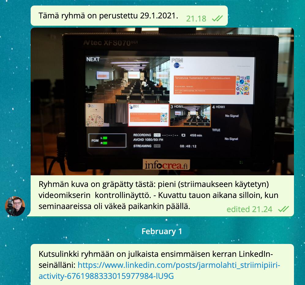 StriimiPiiri-at-Telegram