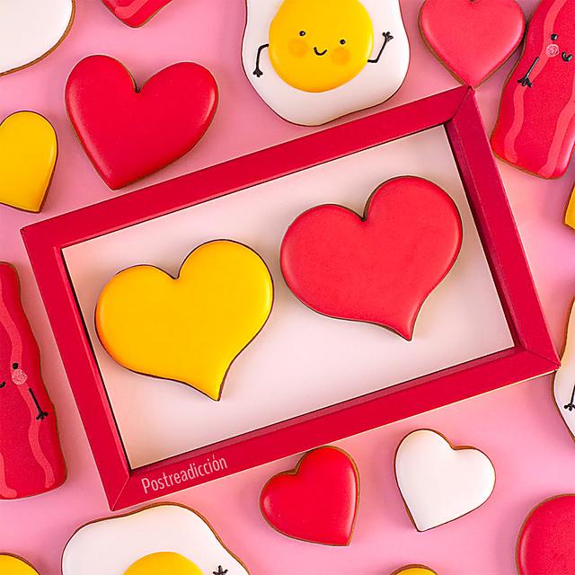 cortadores galletas corazon