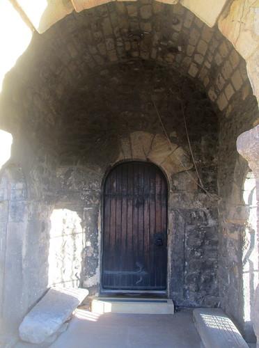 West Door, St Peter's Church, Monkwearmouth