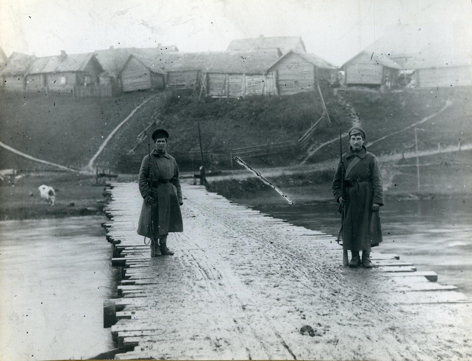 1918. Волховский фронт