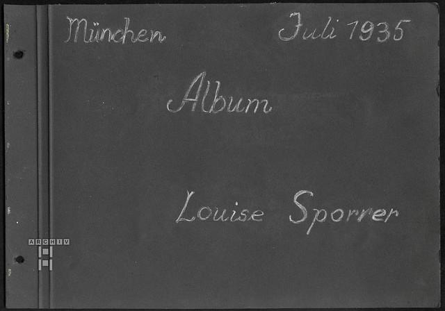 ArchivTappen2AAl2e639 Erste Seite, Fotoalbum, 1930-1948