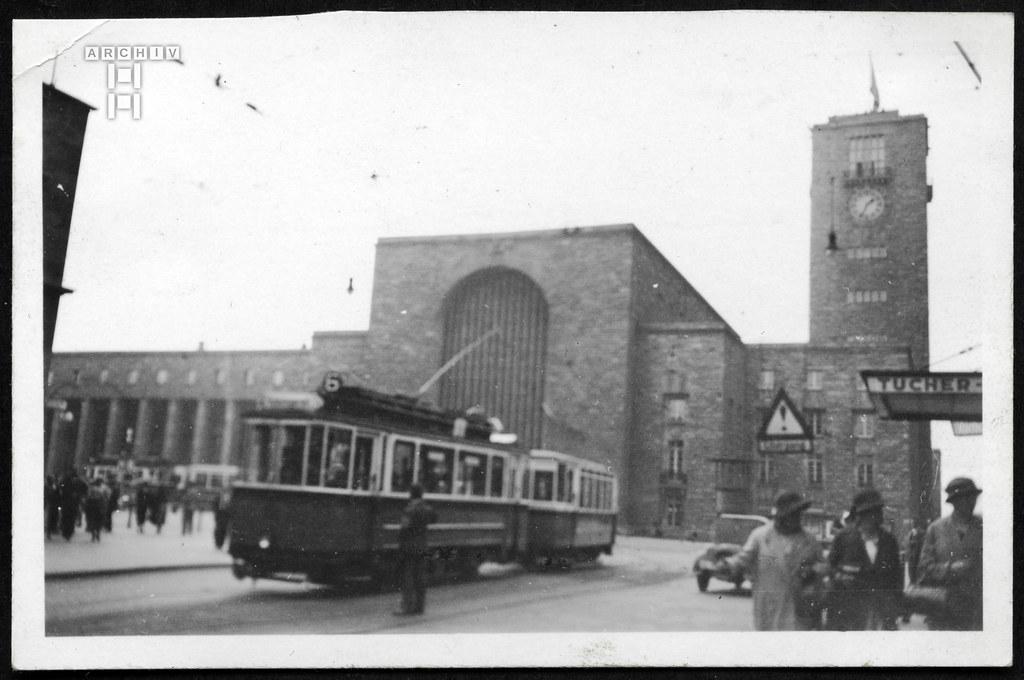 ArchivTappen2AAl2e648 Bahnhofsturm Stuttgart, Fotoalbum, 1930-1948