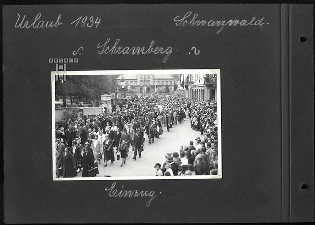 ArchivTappen2AAl2e640 Kdf-Urlaub, Schramberg, Fotoalbum, 1930-1948
