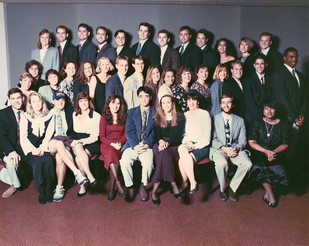 The Jepson Class of 1994 produced not only the School's first graduates, but also the greatest number of alumni marriages--three! Can you identify...