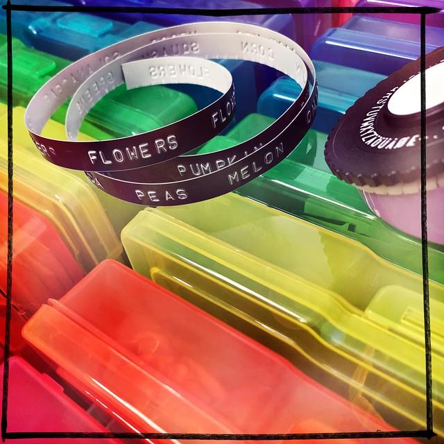 Rainbow Seed Storage