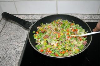 18 - Braise peas / Erbsen andünsten