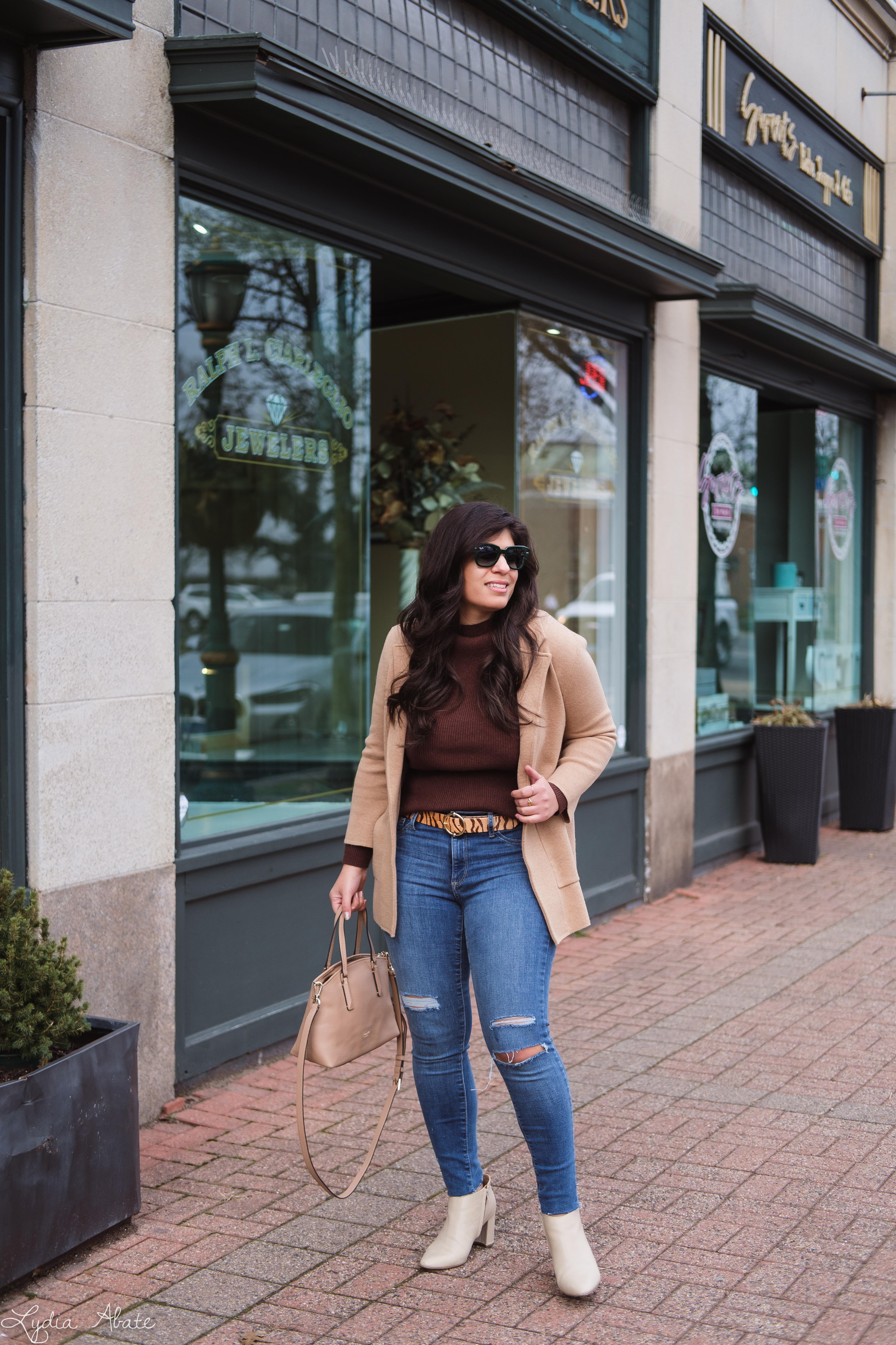 camel sweater blazer, brown turtleneck, jeans, booties-5.jpg