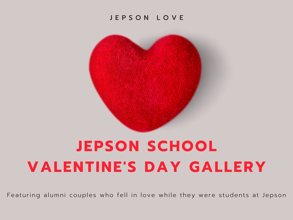 This Valentine's Day, we are celebrating some of the alumni couples who fell in love while they were students at the Jepson School.