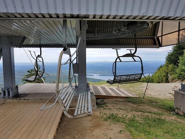 La Station De Débarquement Du Remonte-Pente 1 Sommet - Main Quad. 2020 09 07 16:44.46