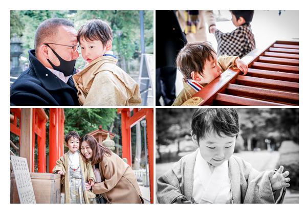 3歳の七五三 針名神社へお参り 名古屋市天白区