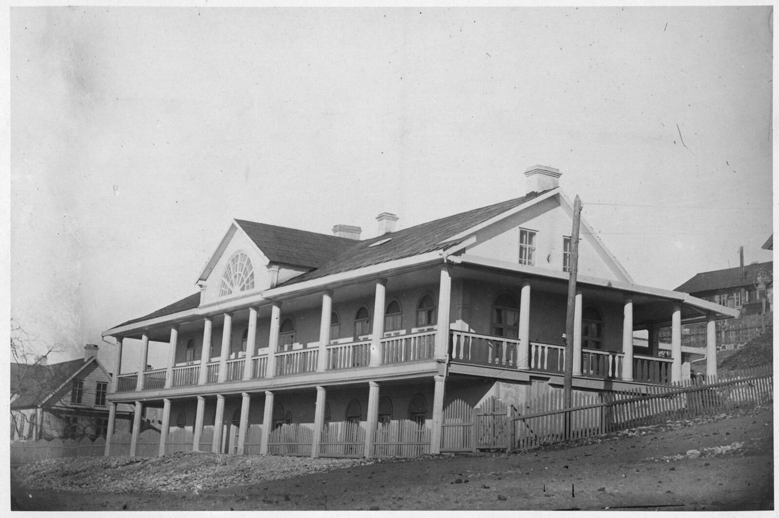 Телеграфная станция 1865