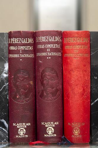 Episodios Nacionales de Pérez Galdós