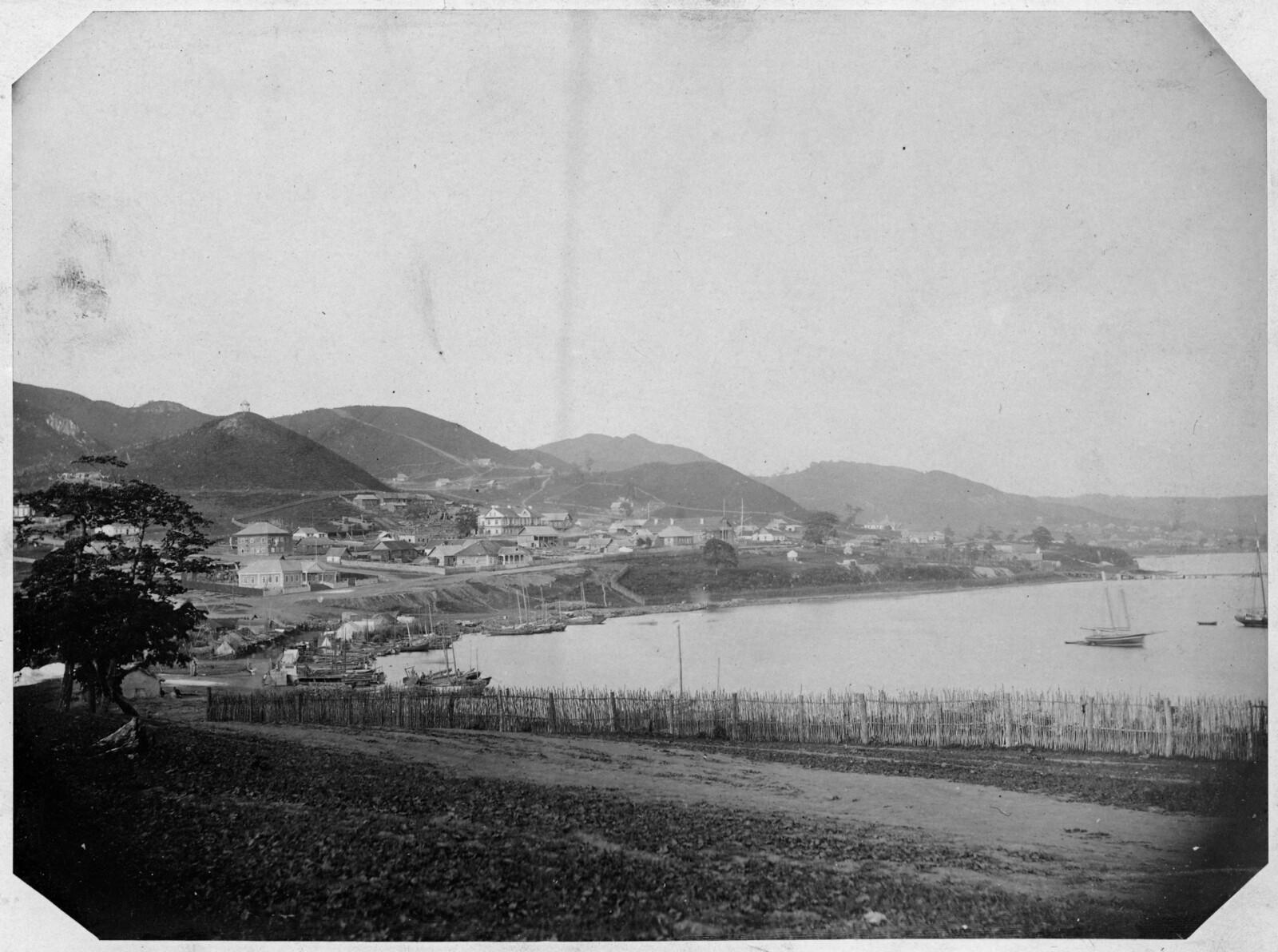 Отдаленный вид на город. 1876