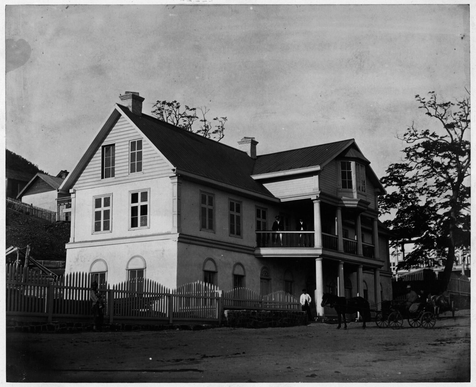 Дом купца Шмита. 1876.