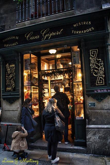 Barcelona. Casa Gispert. 1851. Tueste artesano de café y frutos secos.