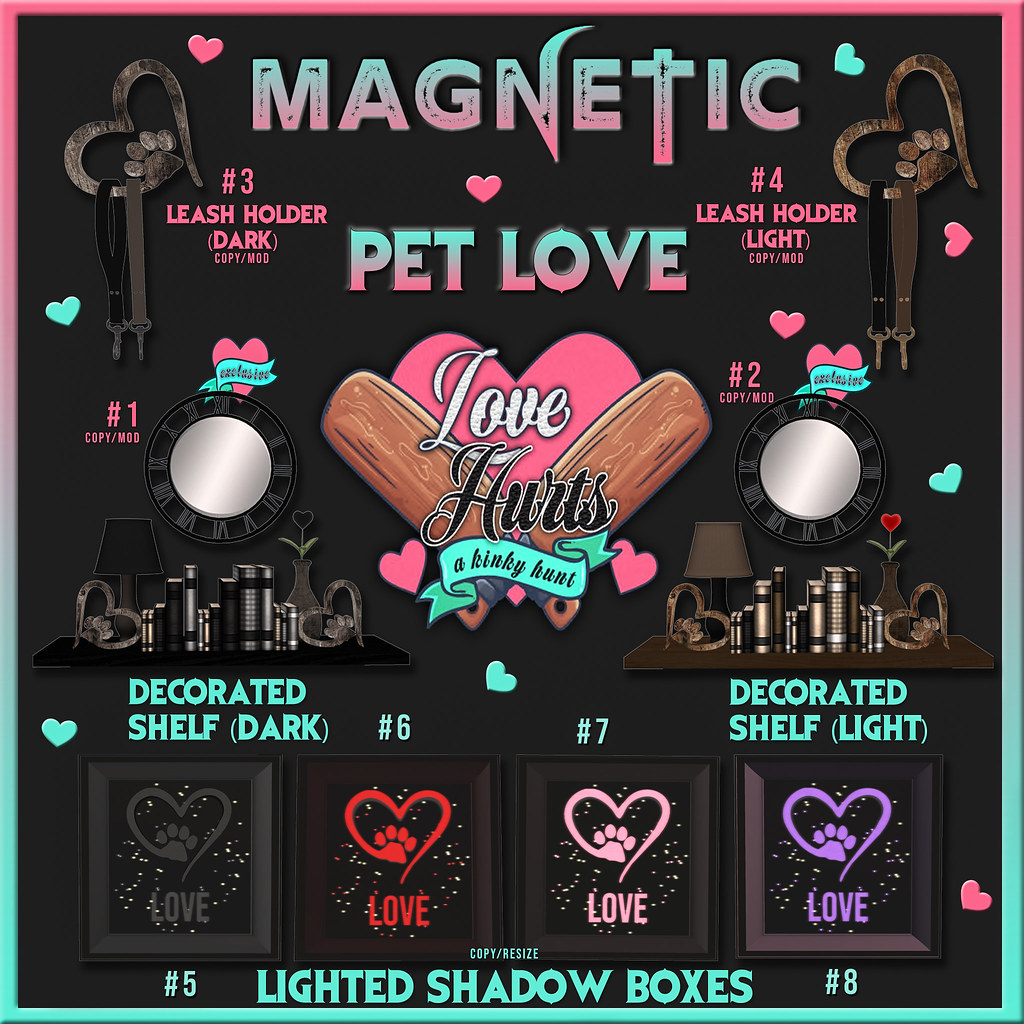 Magnetic – Love Hurts Hunt