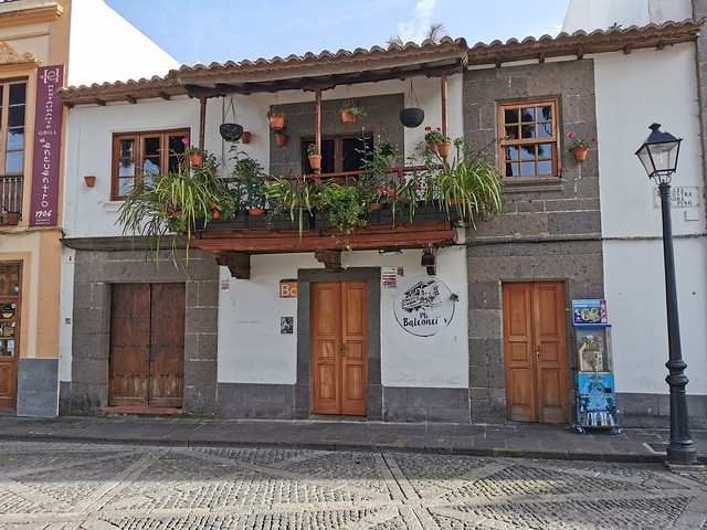edificios Plaza de Nuestra Señora del Pino Teror Gran Canaria Islas Canarias 01