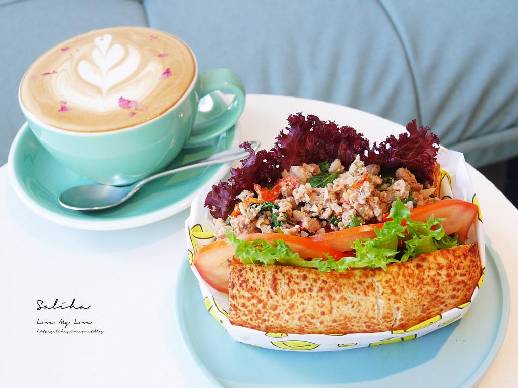 台北早午餐推薦Want More士林區芝山站美食咖啡廳下午茶蛋糕甜點IG餐廳適合看書聊天 (2)