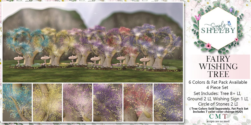 Simply Shelby Fairy Wishing Tree All Colors Ad
