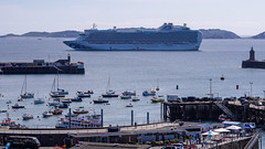 Anchored off Saint Peter Port Harbour - Guernsey, Channel Islands
