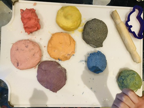 Homemade play-doh play dough