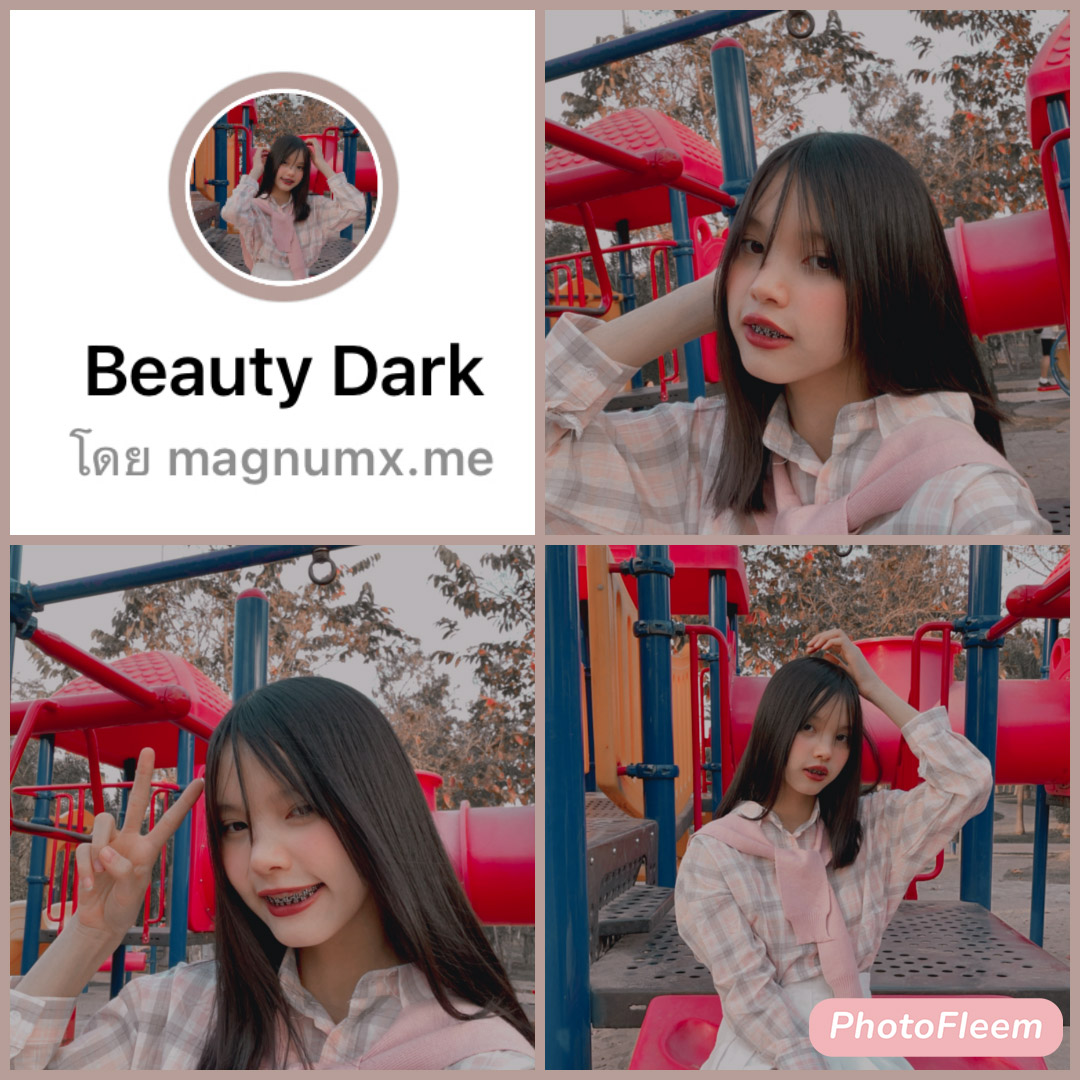 Beauty Dark ฟิลเตอร์ไอจีแนวบิวตี้ คุมโทนแปลกใหม่