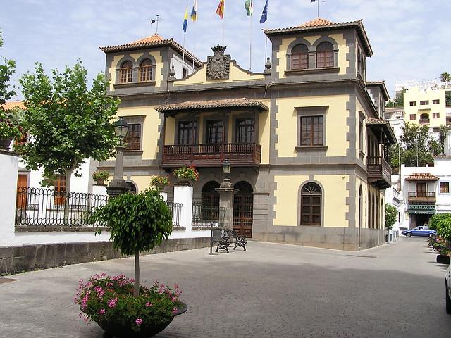 edificio Ayuntamiento o Casa consistorial Teror Gran Canaria Islas Canarias 02