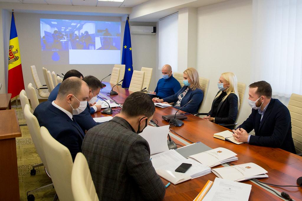 Ședința Comisiei de anchetă privind modul de exploatare a substanțelor minerale utile
