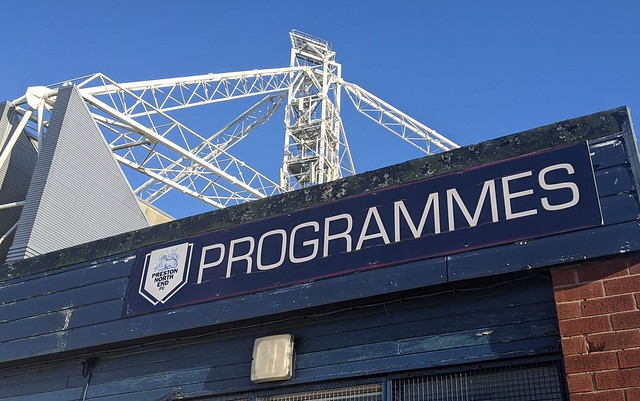Programme building at Deepdale