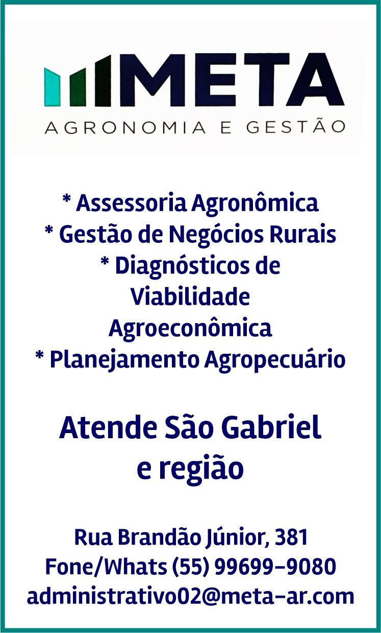 Meta Agronomia e Gestão, em São Gabriel - a serviço do agronegócio
