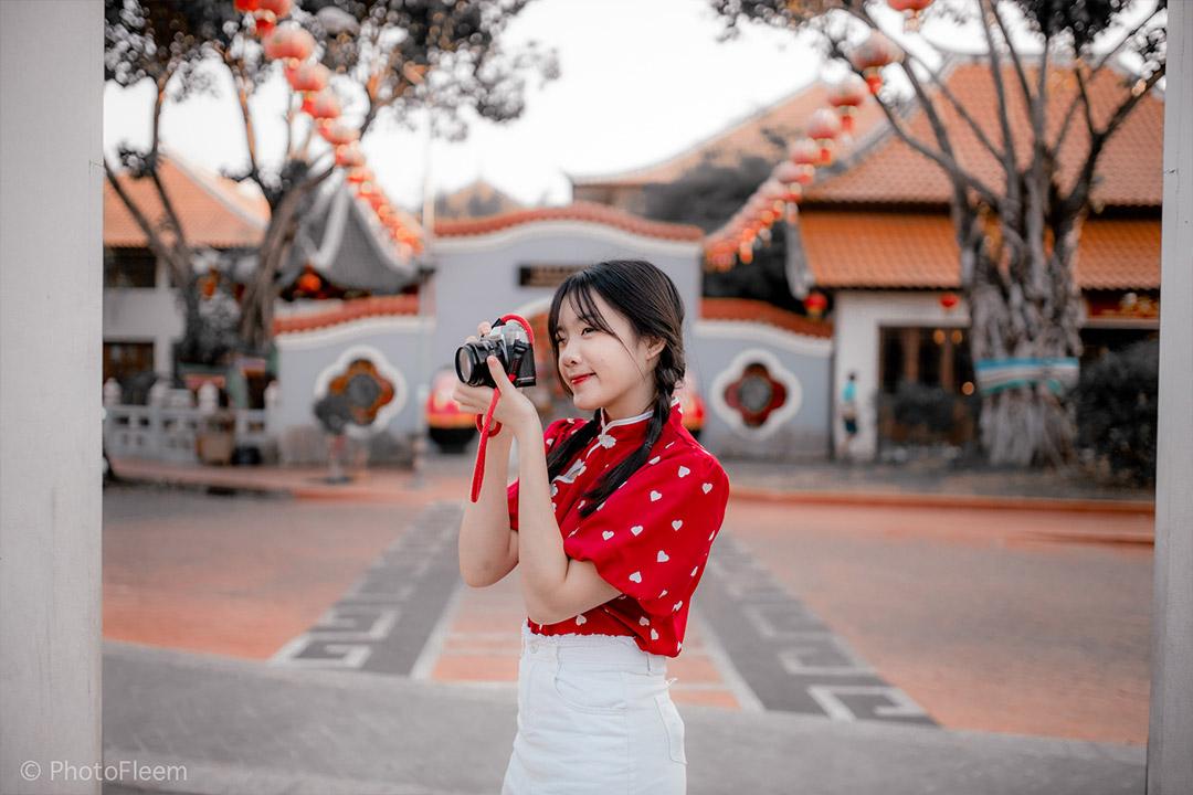 แต่งรูป Lightroom โทนตรุษจีน
