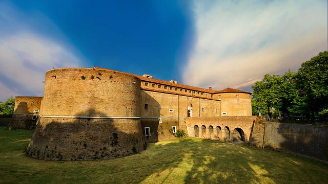 Rocca Costanza Castle, Pesaro - Italia.