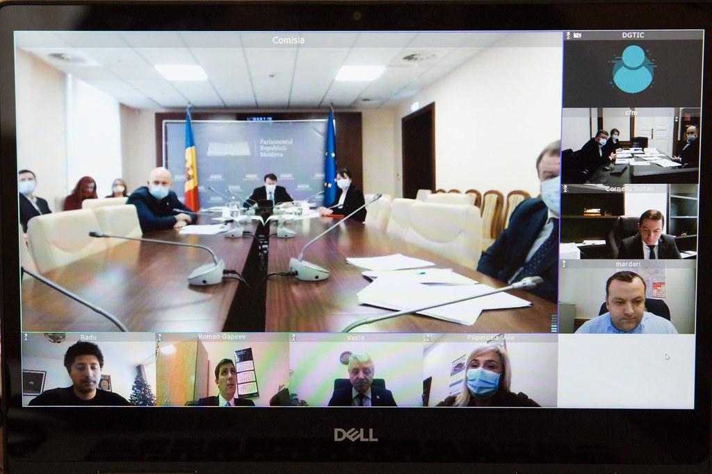 02.02.2021 Ședința Comisiei de control al finanțelor publice