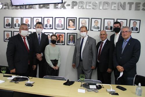 Reunião de transição de cargo da FPA